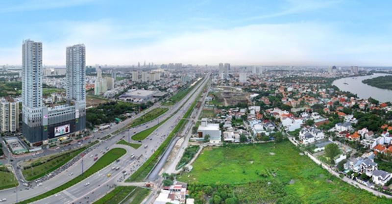 """Gía đất nền khu vực phía Tây Sài Gòn gây """"choáng"""""""